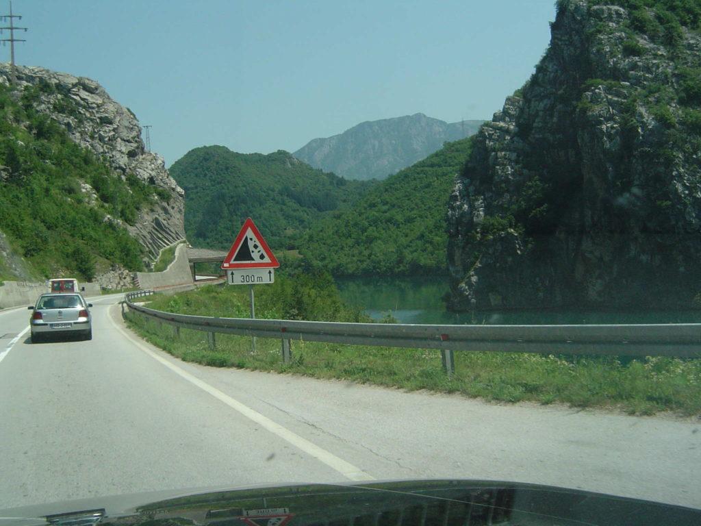 Bośnia i Hercegowina; malowniczy wąwóz