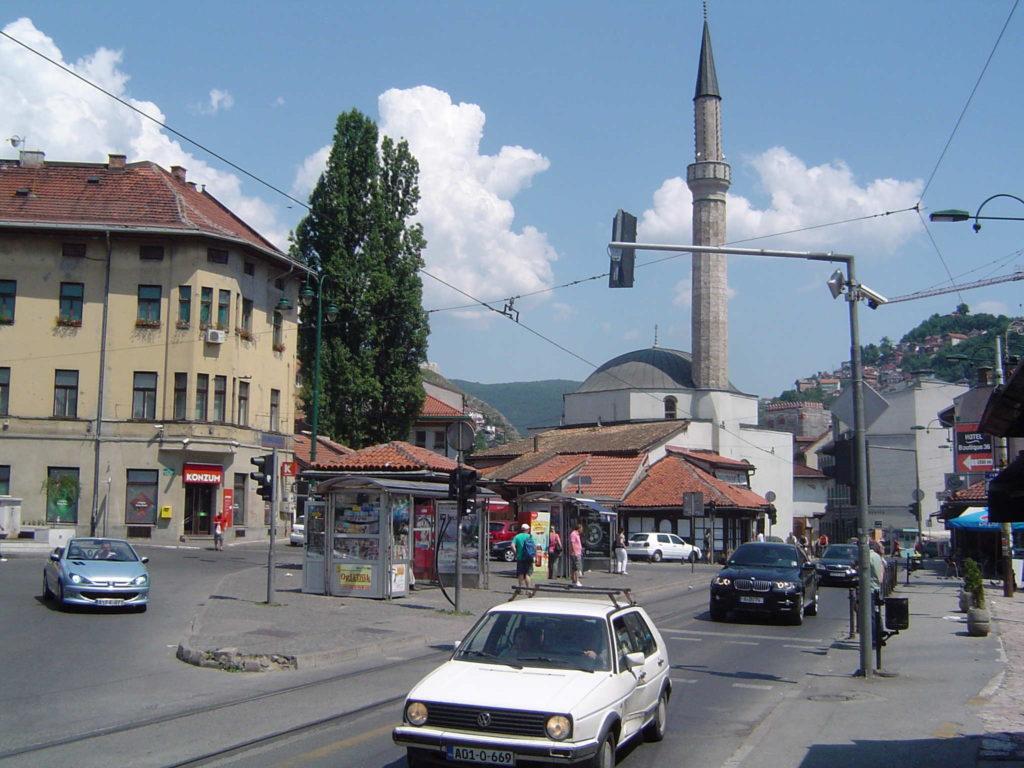 Sarajewo - centrum miasta