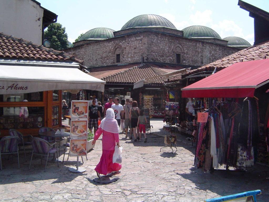 Sarajewo - meczety i targowiska