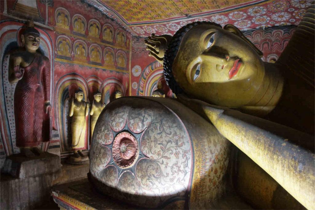 Świątynia Dambulla, Sri Lanka