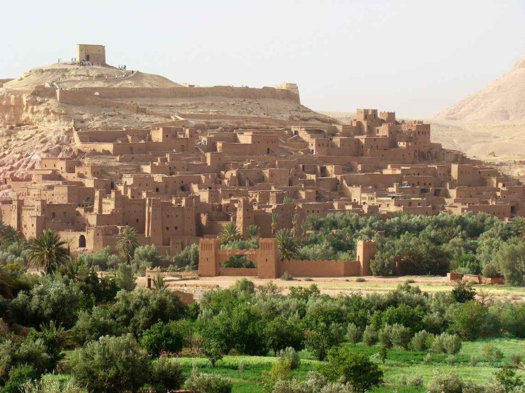 Kazba Ait Ben Haddou, Maroko