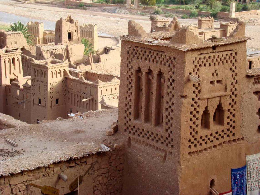 detale architektury - Kazba Ait Ben Haddou