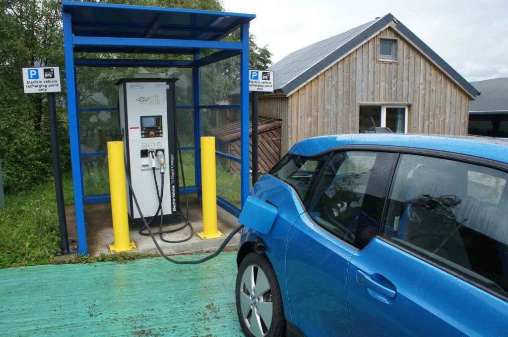 elektryczne BMW, Szkocja