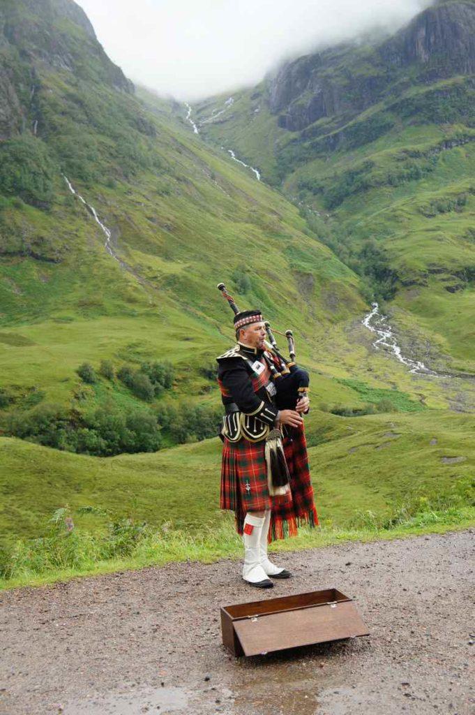 Glenoe, Szkocja