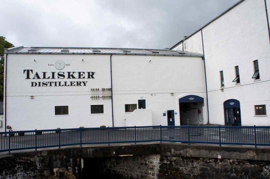 destylarnia whisky Talisker