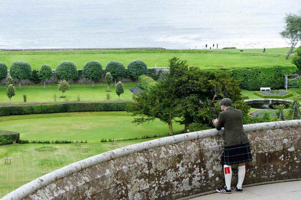 zamek Dunrobin, Szkocja