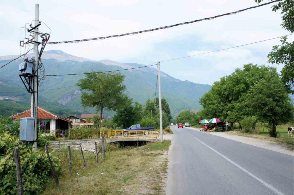 rolnicze tereny - Kosowo
