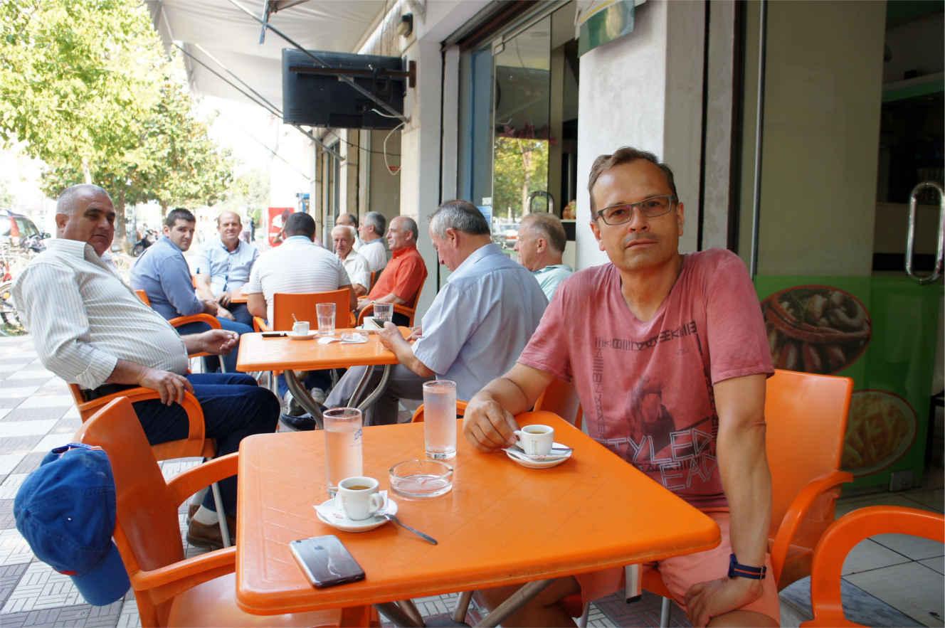 kawiarniane życie - Albania