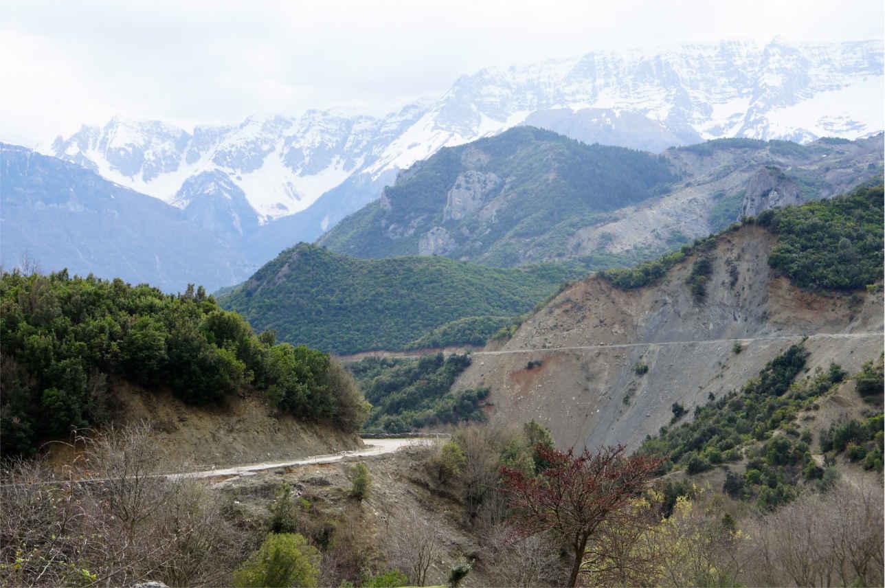góry - Albania