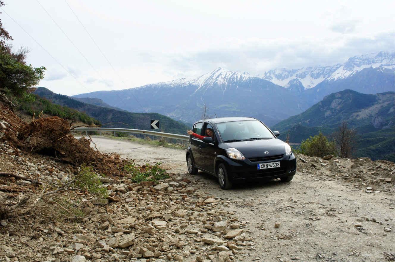 górska trasa - Albania