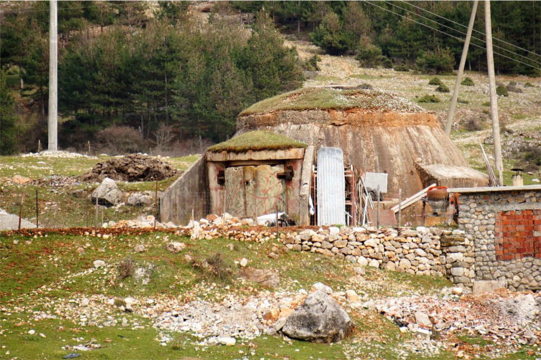 Bunkry w Albanii