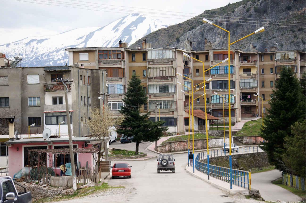 miasto Leskovik - Albania