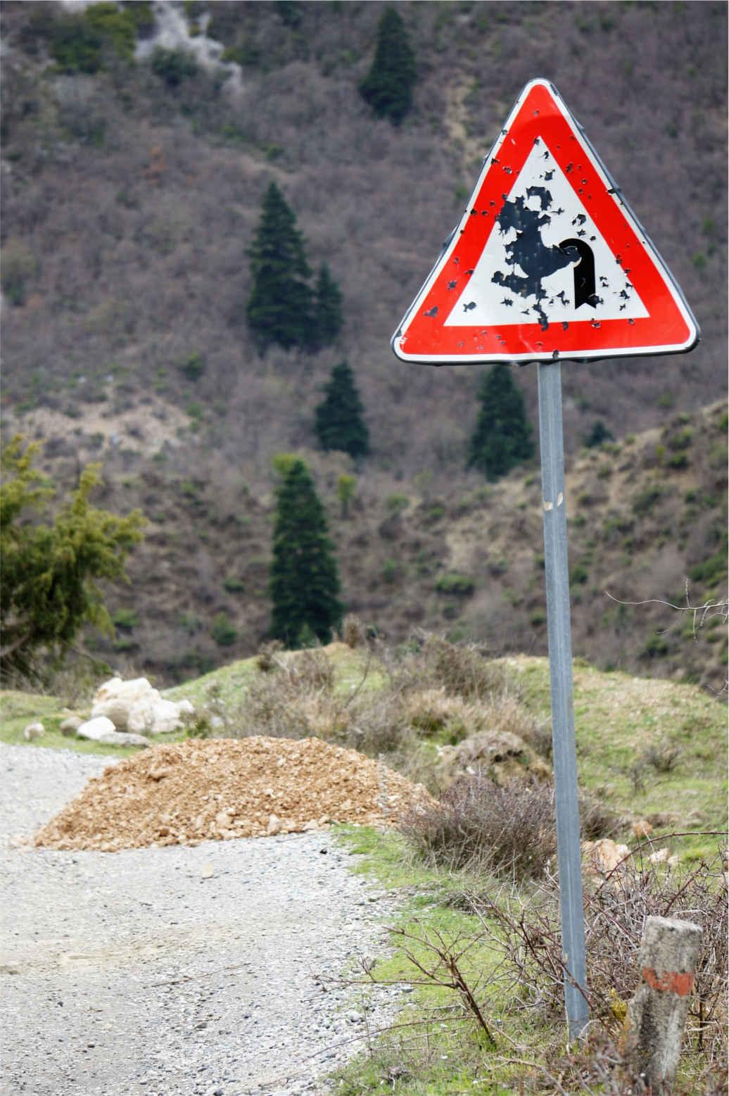 podrzędna droga - Albania