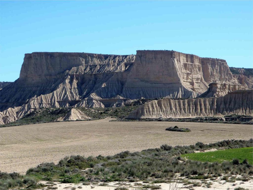formacje skalne Bardenas Reales
