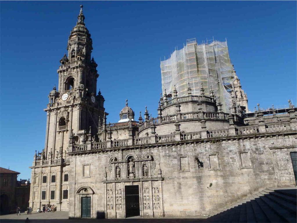 piękne Santiago de Compostella