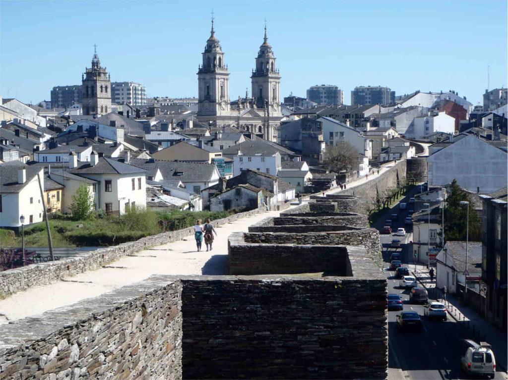 Lugo, północna Hiszpania