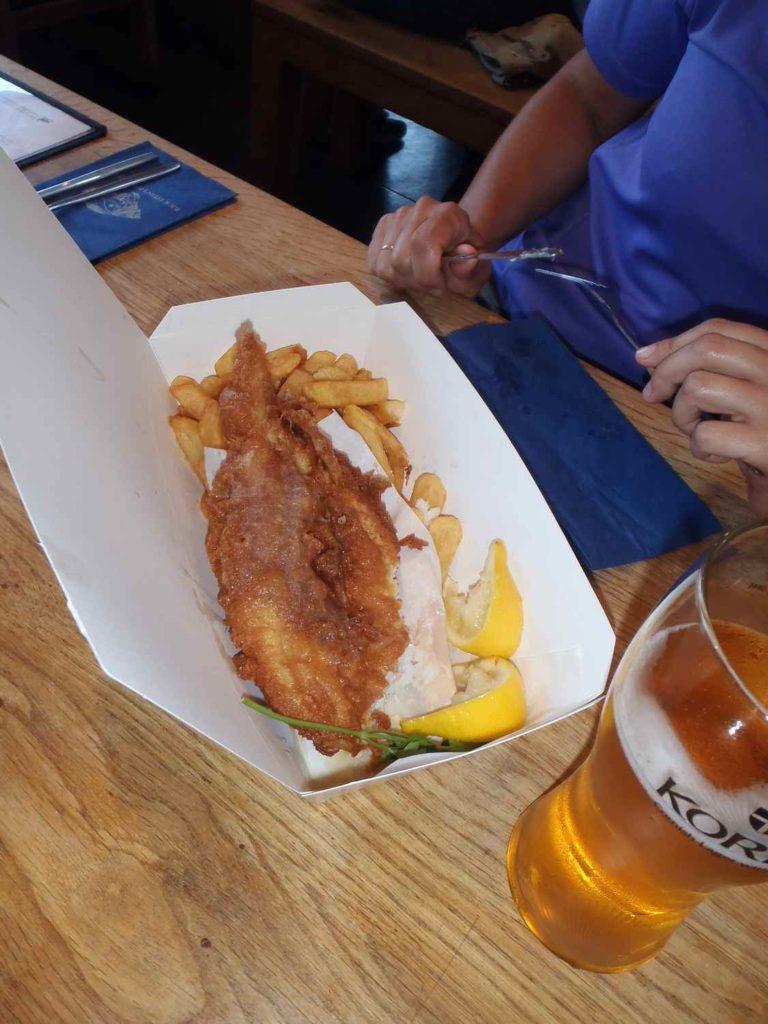 Fish & Chips, Kornwalia
