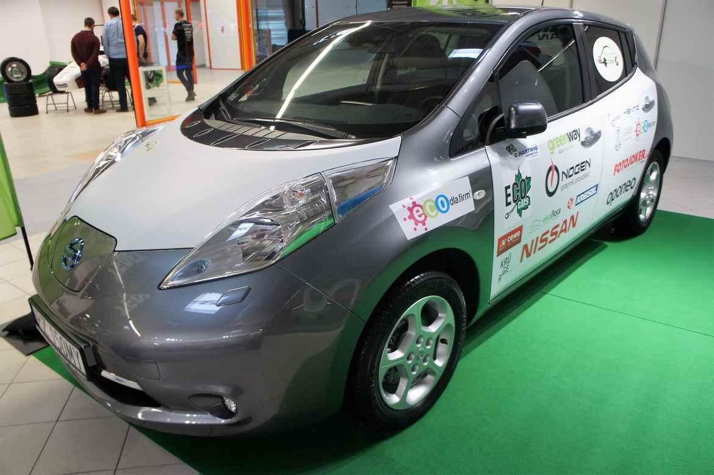 Nissan LEAF Arkadego Fiedlera