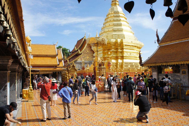 Chiang Mai Świątynia Doi Suthep