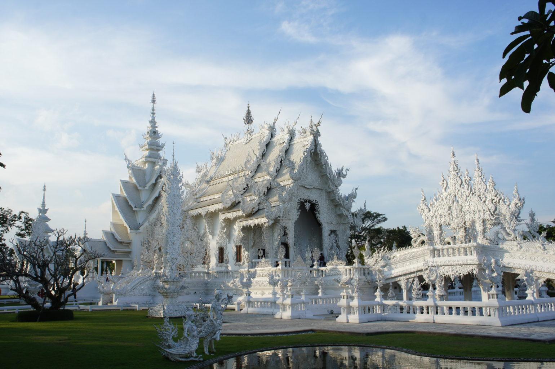 Chiang Rai Biała Świątynia