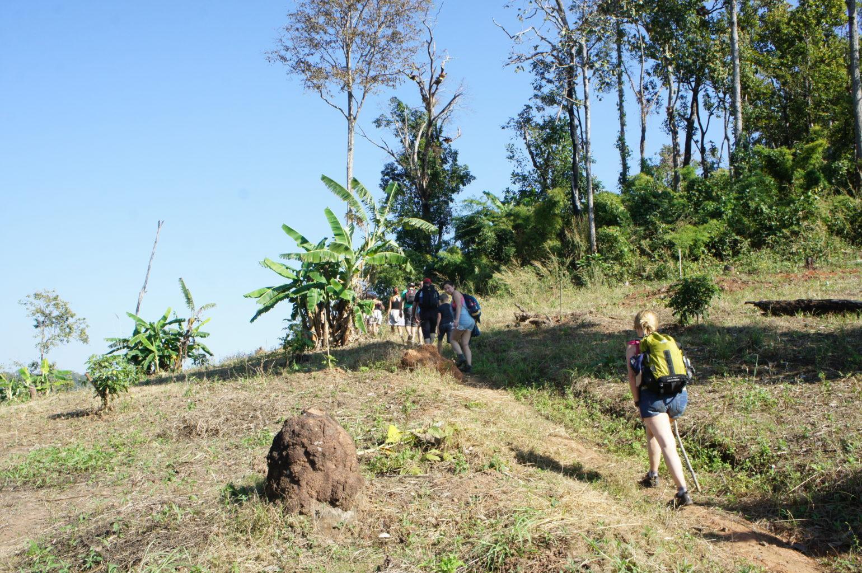 trekking Tajlandia - na trasie
