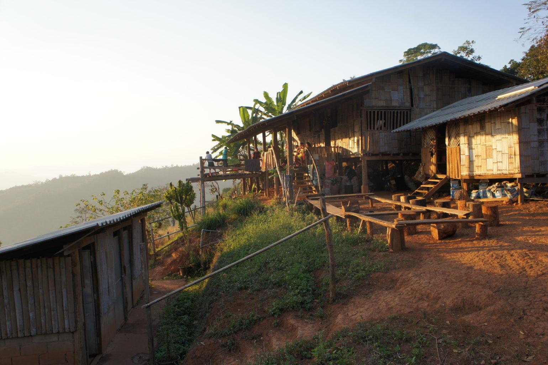 trekking Tajlandia - chata noclegowa