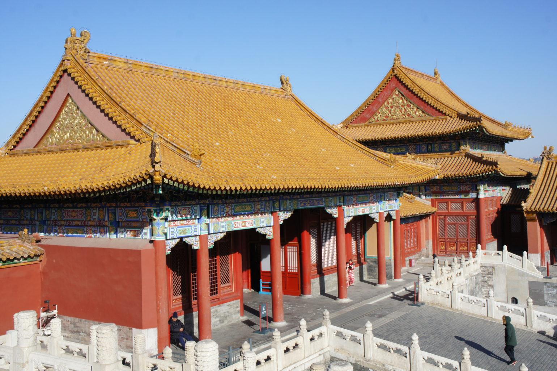 Pekin pałace Zakazanego Miasta