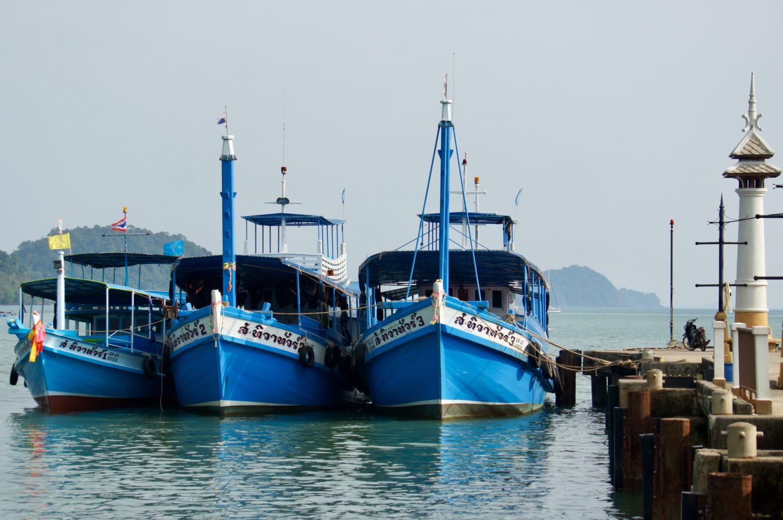 Ko Chang - cumujące kutry
