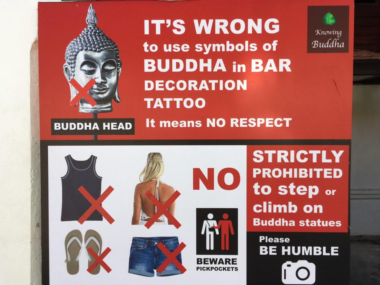 Budda - zasady, zachowanie, savoir vivre
