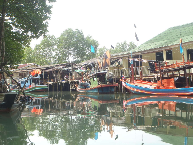 Ko Chang - wioska rybacka