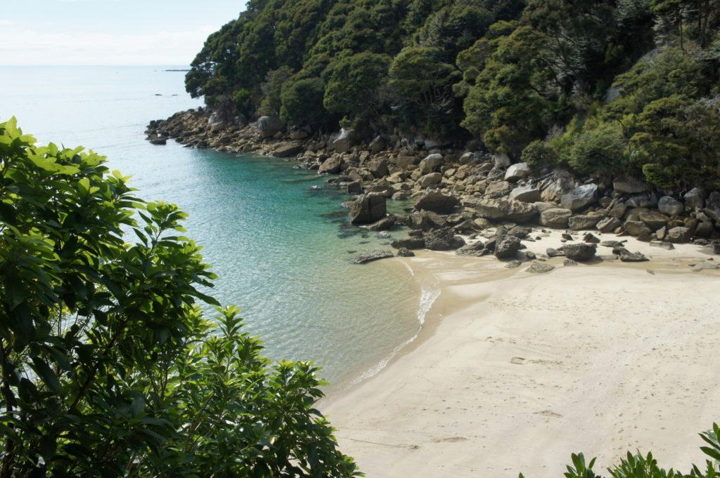 bezludna plaża Abel Tasman National Park