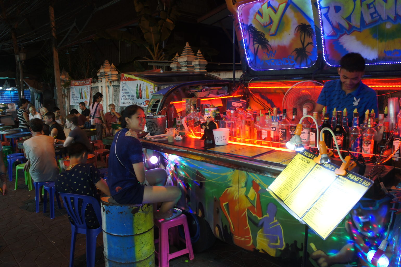 Bangkok po zmroku