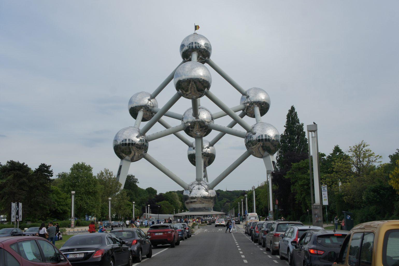 Atomium - symbol Brukseli