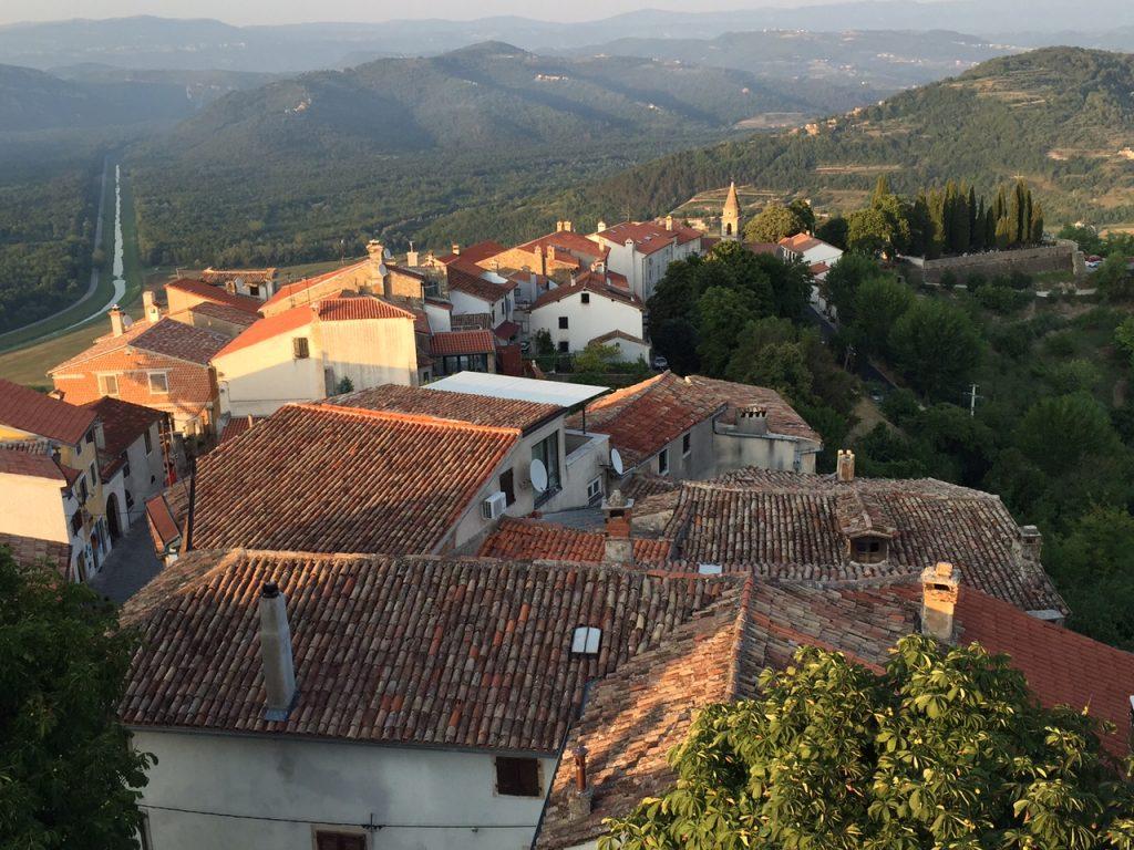 górskie miasta Istrii