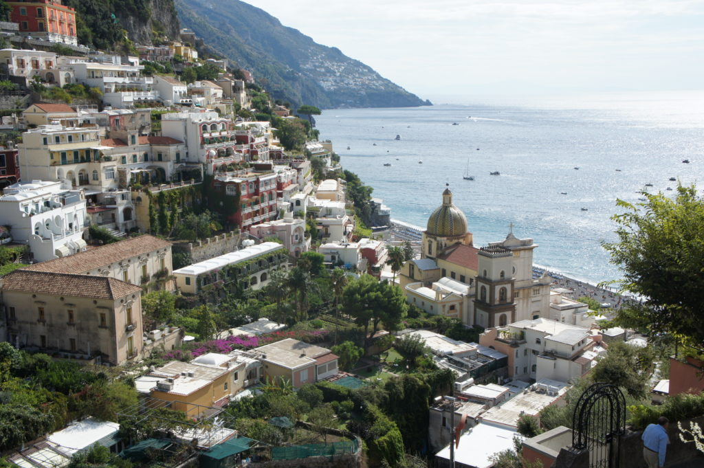 tarasowo położone Positano