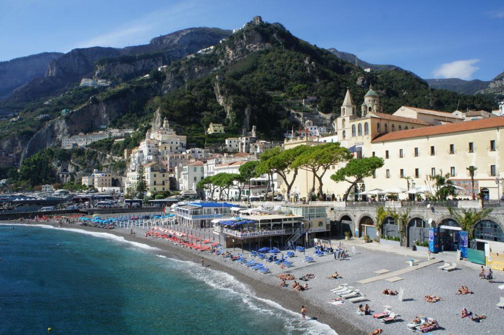 widok na Amalfi