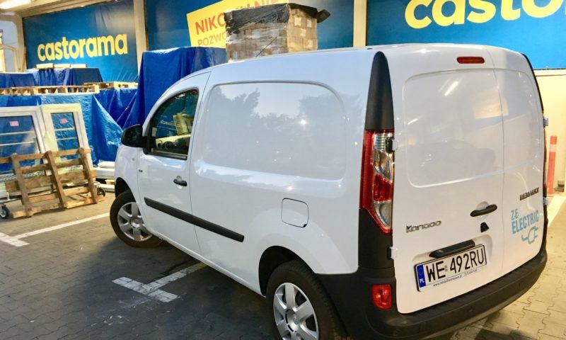 elektryczny Renault Kangoo