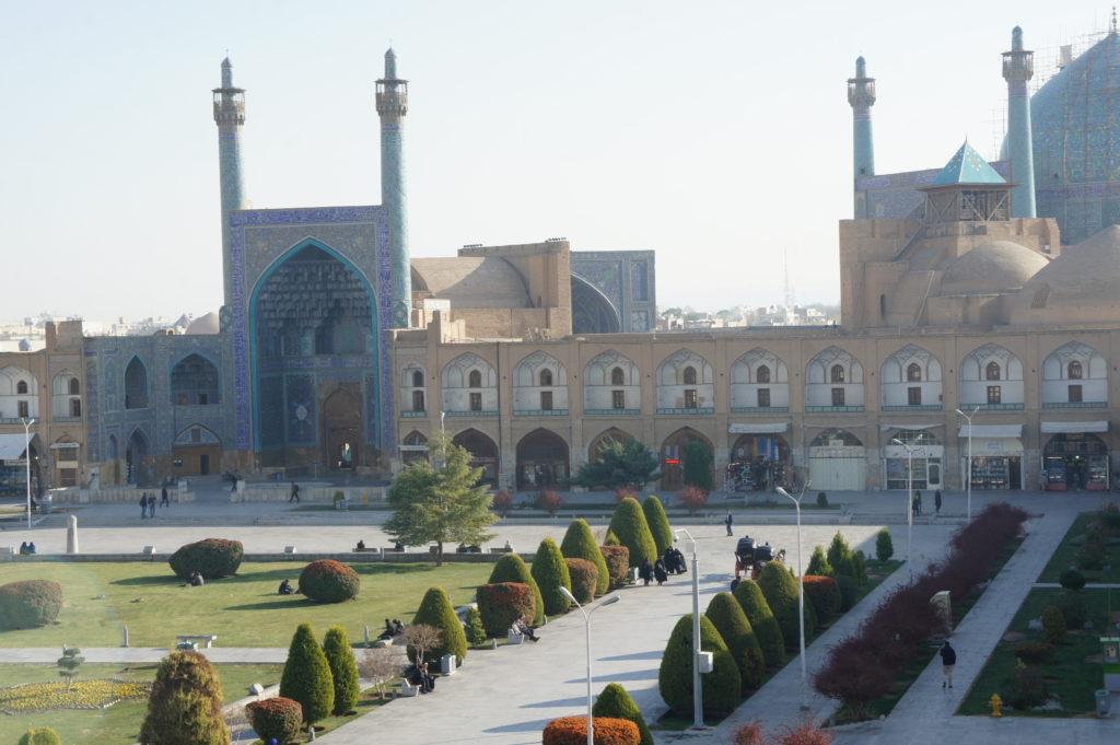 Plac Imama, drugi największy plac na świecie