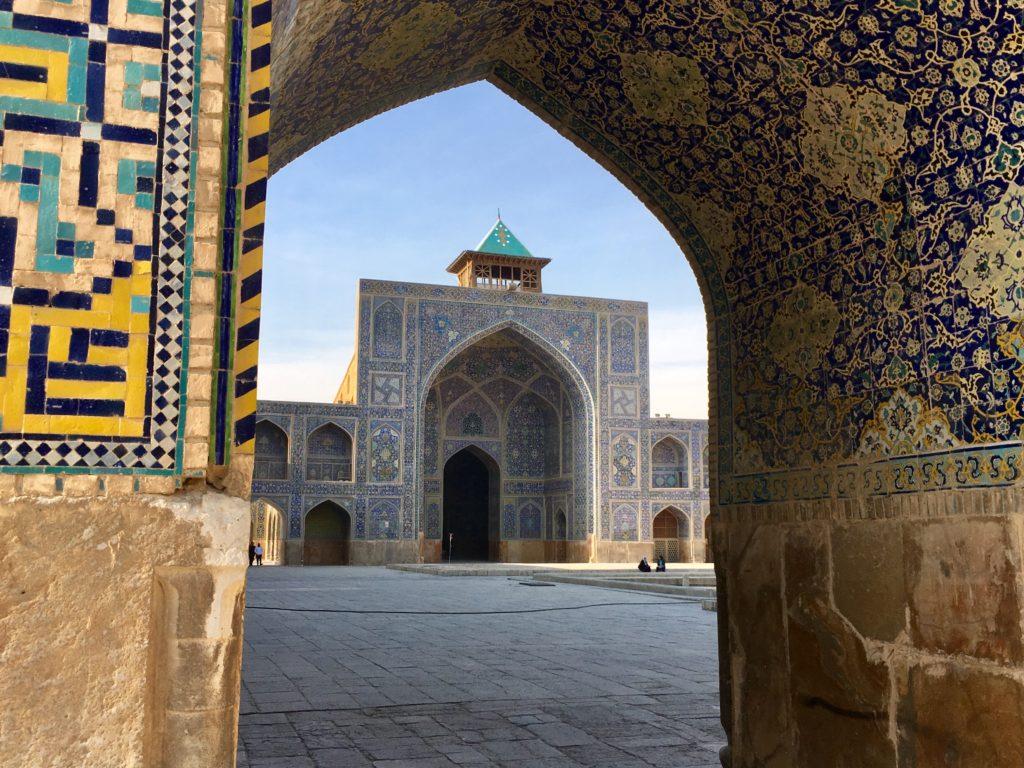 Meczet w Isfahanie