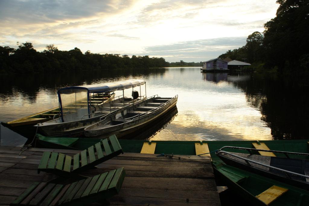 cicha rzeka Mamori