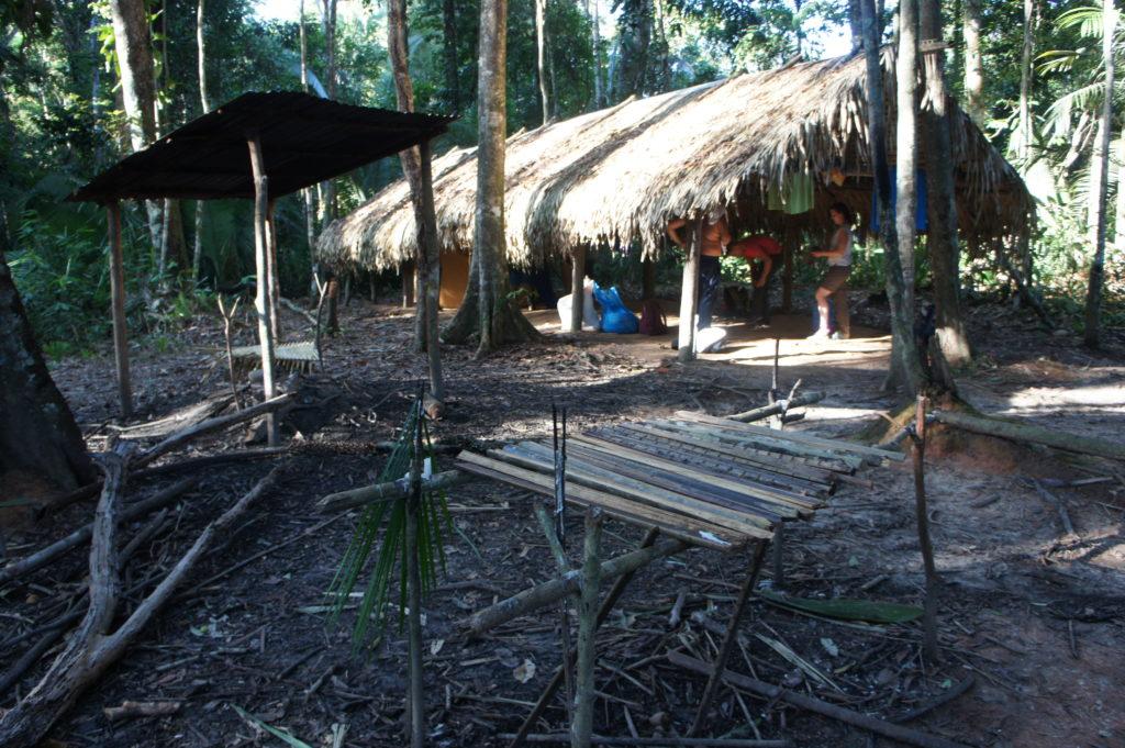 Obozowisko w dżungli