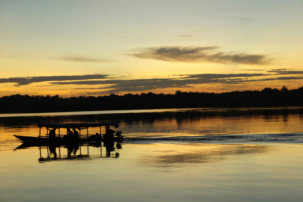 Amazonia - wschód słońca