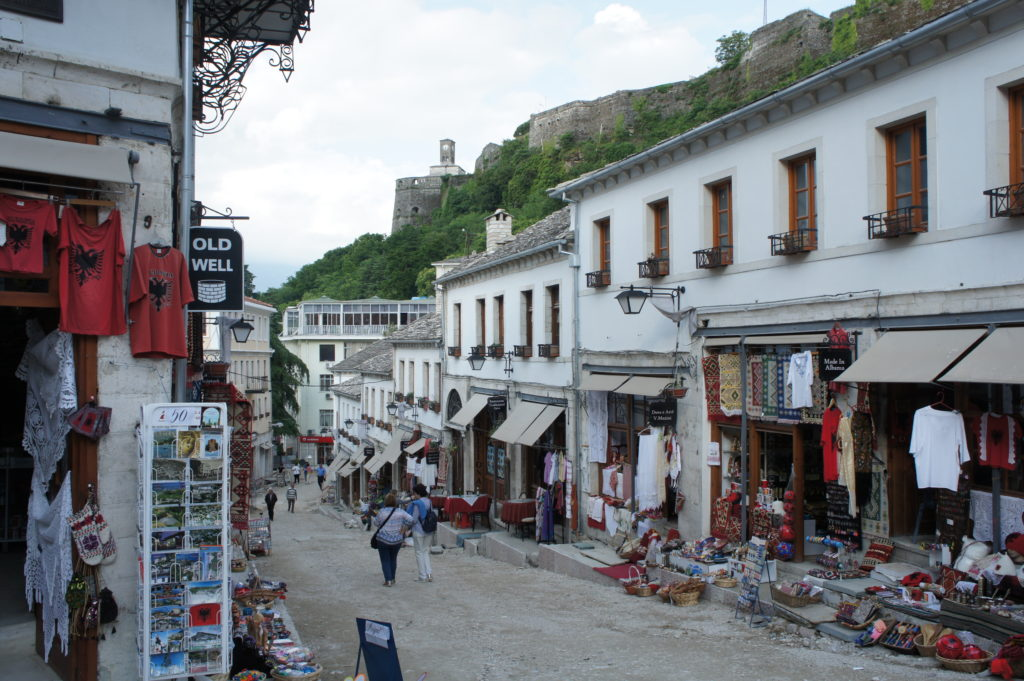 Gjirokastra - osmańska starówka