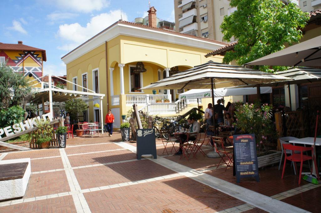 Nowy Bazar w Tiranie