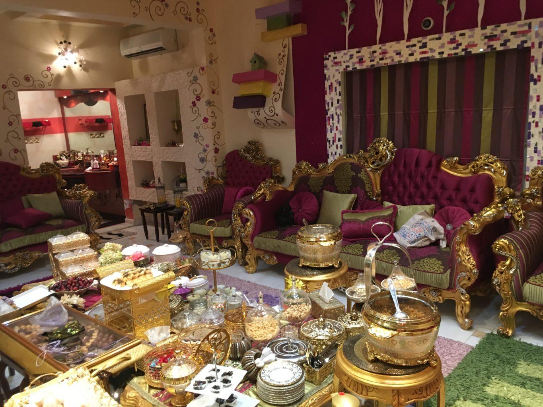 Bogaty, arabski dom w Szardży