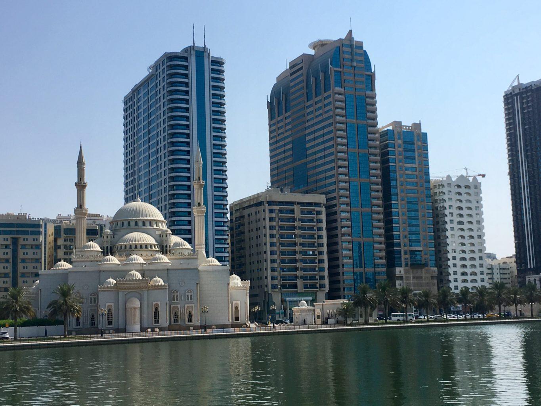 Panorama miasta Sharjah