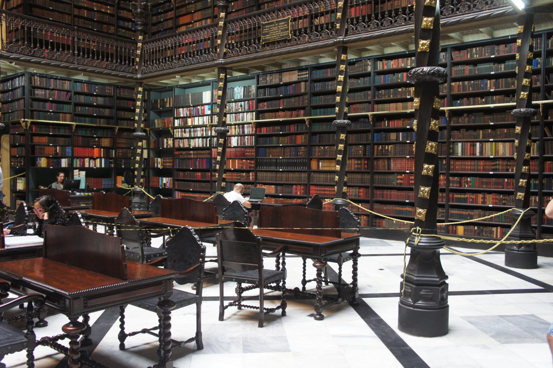 Wnętrze Real Gabinete Portugues se Leitura