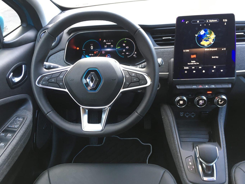 Wygodna pozycja za kierownicą pozwala na pokonywanie długich dystansów
