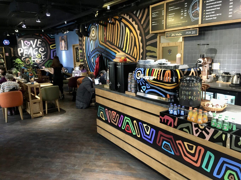 Tucano Coffee w Petersburgu