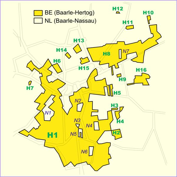 Baarle Hertog Nassau